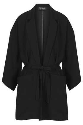Plain Pyjama Style Kimono - Blazers - Jackets & Coats  - Clothing - Topshop