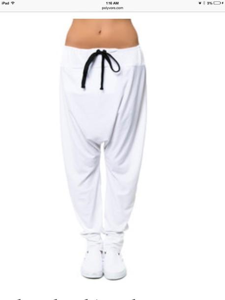 pants cozy harem pants