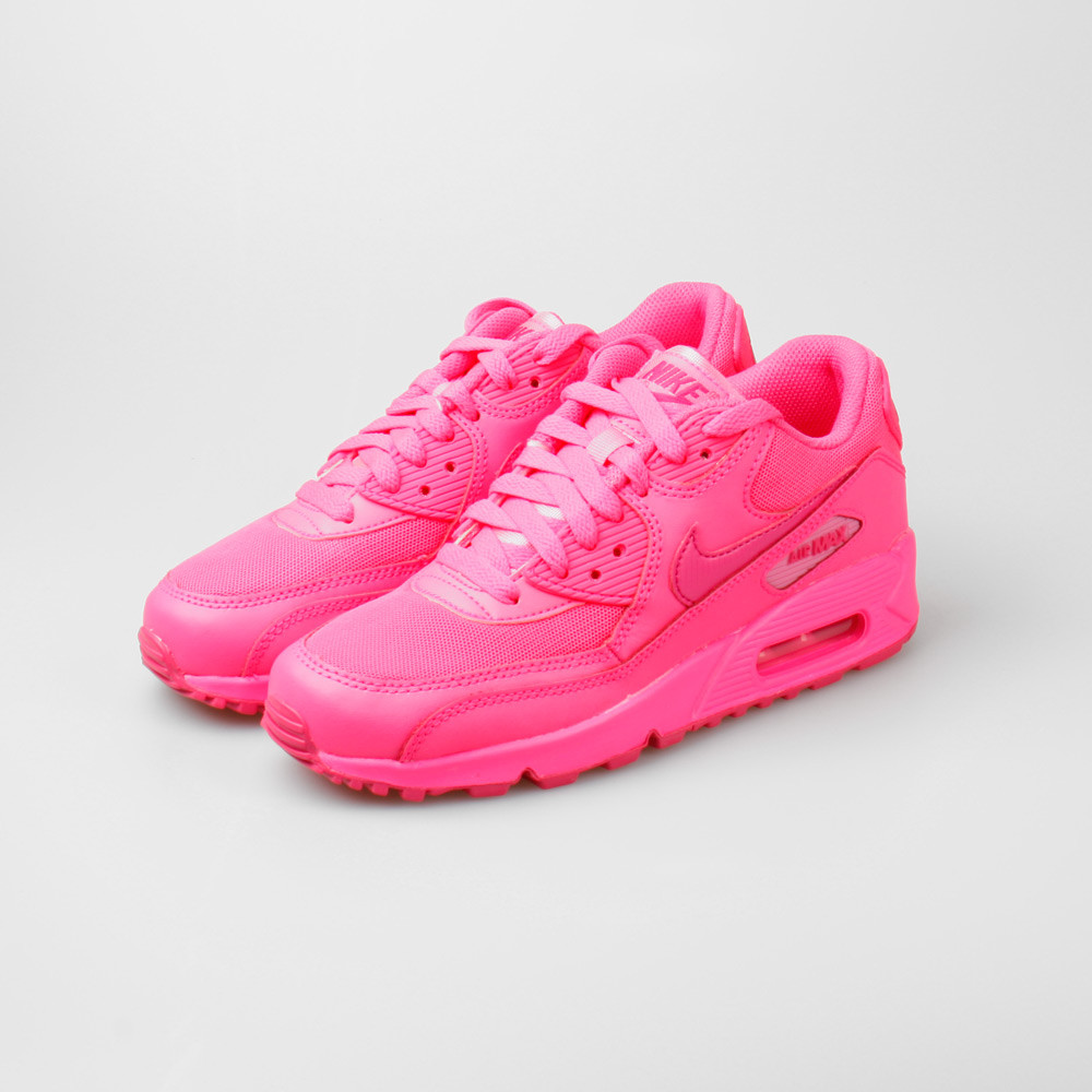 best sneakers 7373f 1dacf Nike Air Max 90 2007 (GS) Hyper Pink
