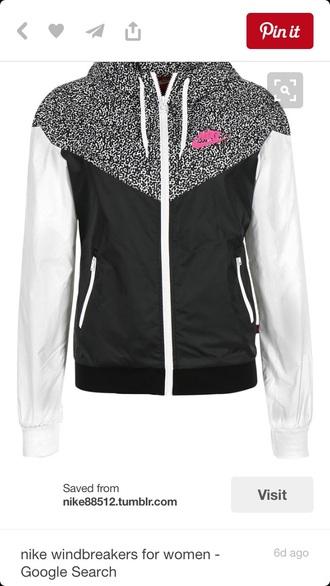 jacket leopard print pink black white