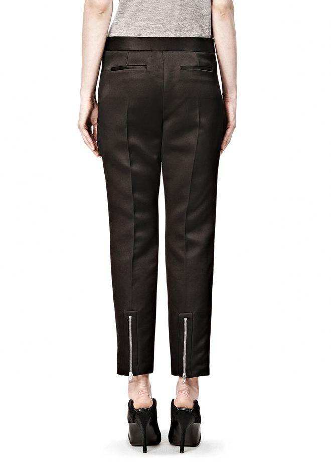 Perfect American Apparel Women39s FourWay Stretch HighWaist Side Zipper Pants