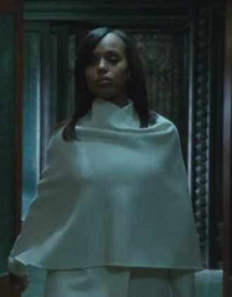 olivia pope kerry washington scandal coat wrap coat white coat ralph lauren