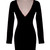 Deep Vee Bodycon Dress | Outfit Made