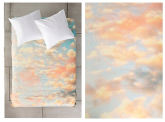 scarf bedding blanket sheets colorful sky home accessory