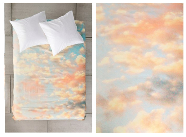 scarf bedding blanket bedding sheets colorful sky home accessory bedding