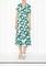 Garland print dress