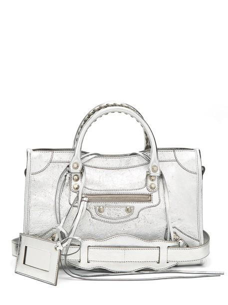 Balenciaga classic bag silver