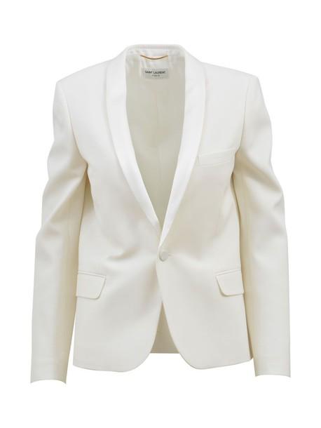 Saint Laurent blazer white jacket