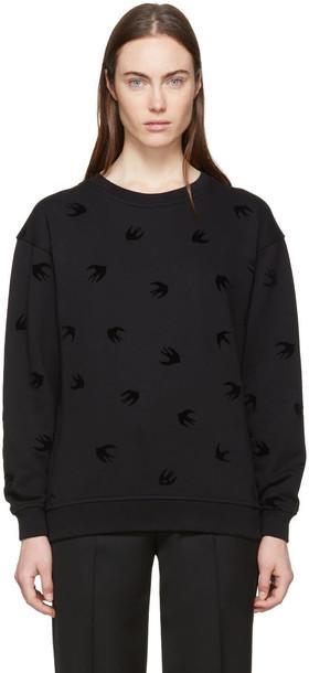 McQ Alexander McQueen sweatshirt mini black sweater