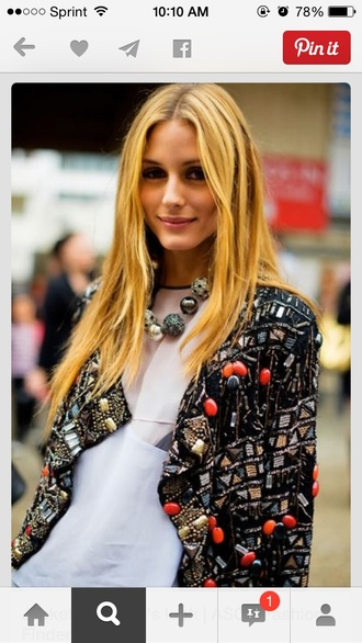 jacket embellished embroidered colorful embellished jacket