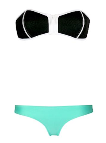 Raw Glitter | Blake Mesh Tankini Bikini - Black, Sexy Mesh Swimwear | RawGlitter.com