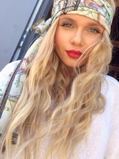 scarf,alli simpson,alli,the simpsons,map print,hat