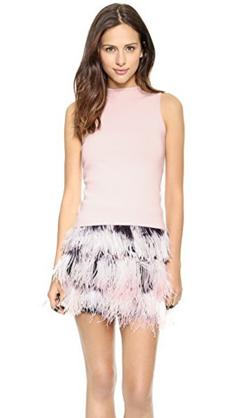 MILLY top blush