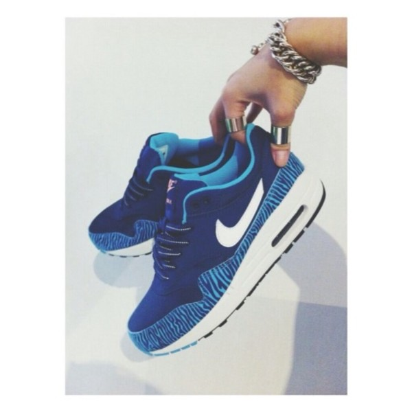 shoes nike air max light blue nubuck jewelry jewels ring gold zebra