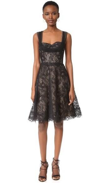dress lace dress noir lace