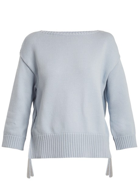 WEEKEND MAX MARA sweater light blue light blue