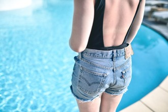barock and roll blogger shorts levi's