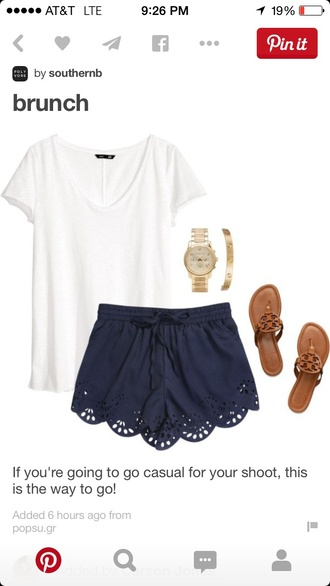 shorts lace shorts blue shorts