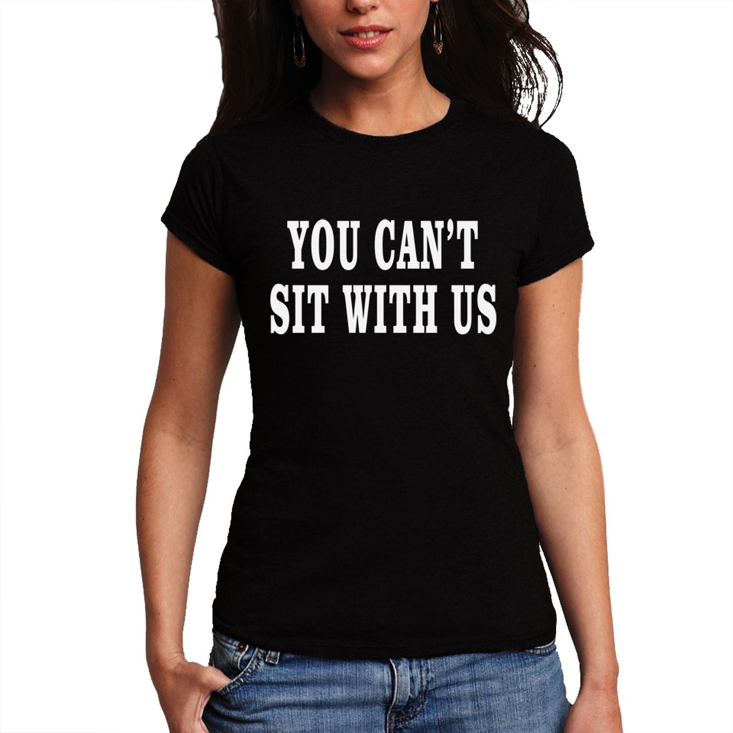 bf6994009 You Can't Sit With Us Geek Nerd Offensive Women T-Shirt NEW XS-2XL at Amazon  ...