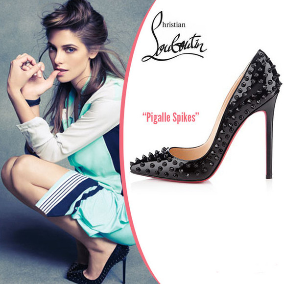 shoes spikes redheels pigalle spikes