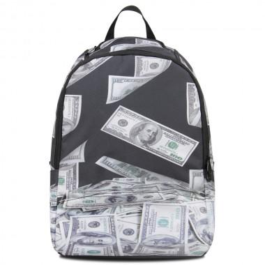 U.s. dollars pattern cool kids backpacks