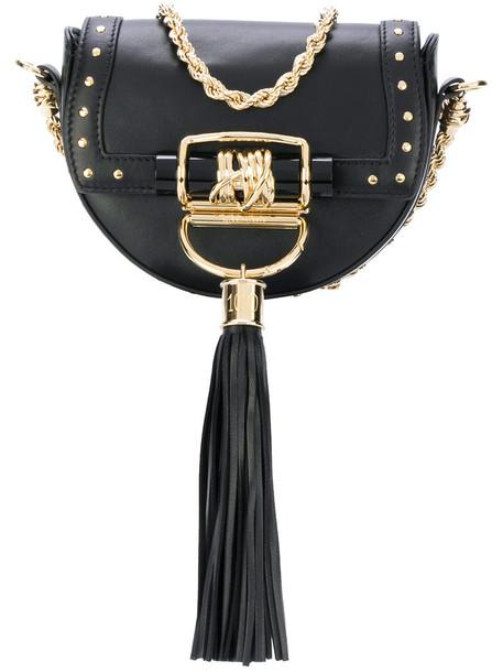 Balmain women bag leather black