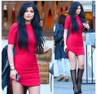 dress kylie jenner dress red dress kylie jenner
