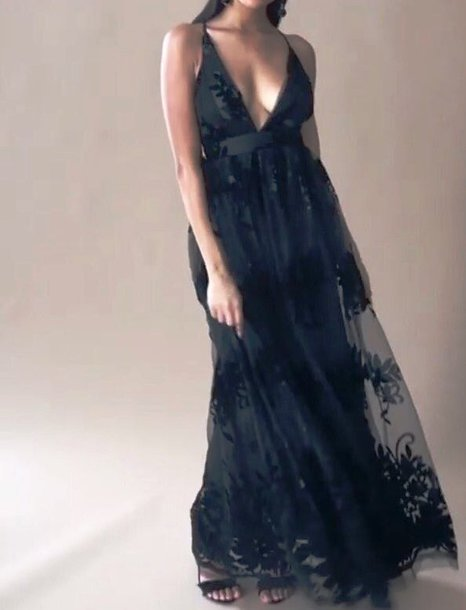dress maxi floral mesh black dress floral mesh maxi dress all black everything spaghetti straps dress spaghetti strap