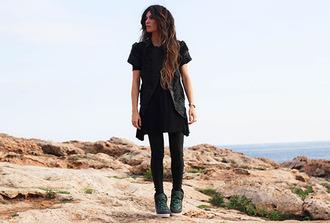 madame rosa blogger jacket sneakers print