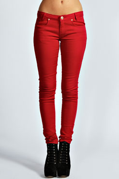 Kimmy Super Skinny Low Rise Jeans at boohoo.com