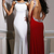 Cheap Free Shipping Matte Satin Rhinestones Open Back Prom Dresses 2013 at Weddingdressunion.com