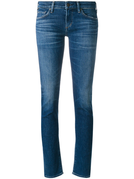 CITIZENS OF HUMANITY jeans skinny jeans women spandex cotton blue