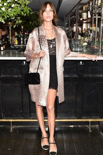 coat alexa chung espadrilles dress