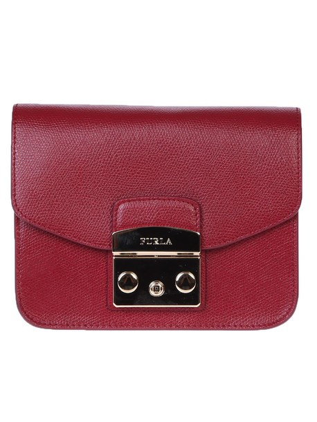 mini bag crossbody bag leather red