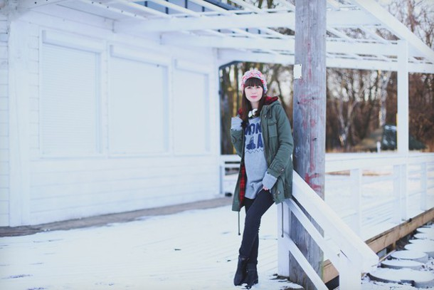 kapuczina blogger coat pants shoes blouse