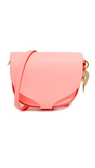 mini bag pink bright