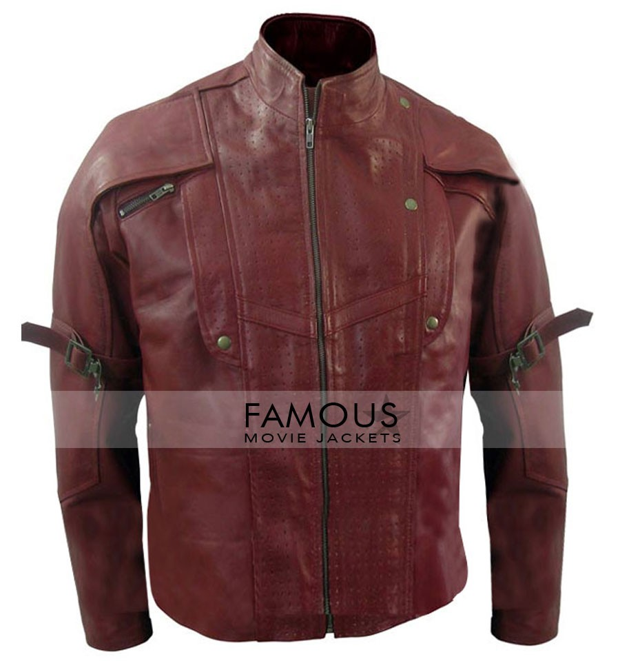 Guardians Of The Galaxy Peter Quill/Star-Lord Chris Pratt Jacket