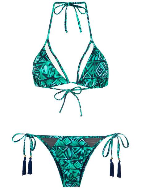 Brigitte bikini triangle bikini triangle women spandex swimwear