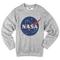 Nasa logo sweatshirt - basic tees shop