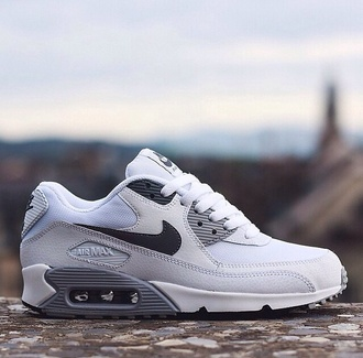 shoes gray nike running shoes air max white