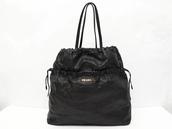 bag,leather bag,black