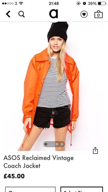 coat orange