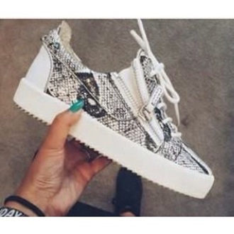 shoes snake print sneakers cool