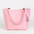 The Emeli Leather Tote Bag (Pastel Pink) Dunmore Scotland Made in the UK