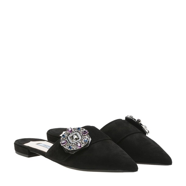 Prada mules black shoes