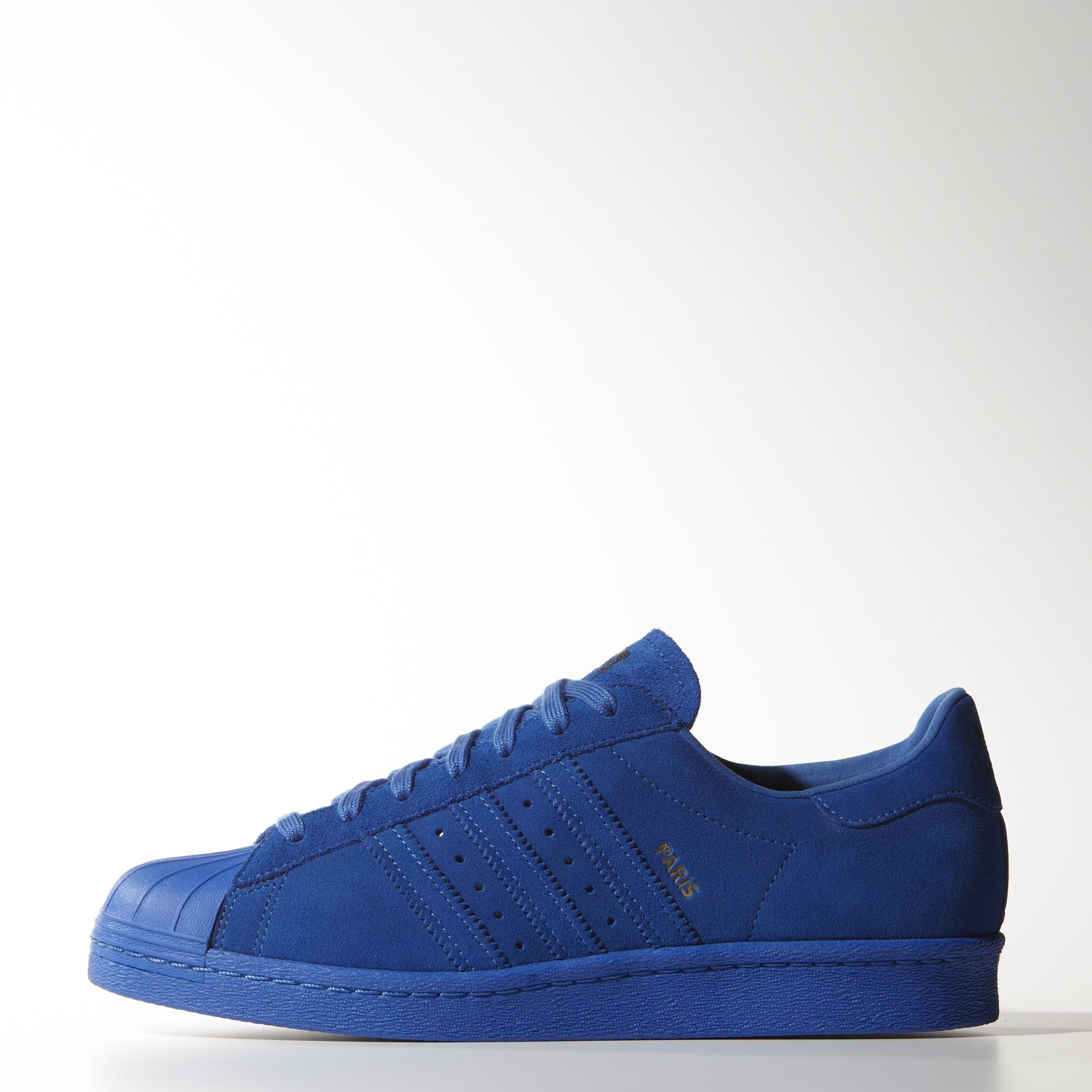 best service 200e9 00d82 Buy superstar 80s Blue  OFF45% Discounted