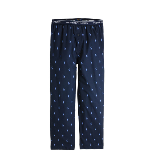 pantalon de pyjama logotyp all over polo ralph galeries lafayette. Black Bedroom Furniture Sets. Home Design Ideas
