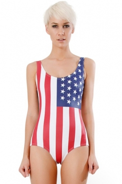 USA One-piece Bathing Suit, Wholesale One-piece Bathing Suit