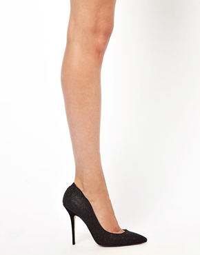 Dune | Dune Ballroom Black Pointed Court Shoes at ASOS