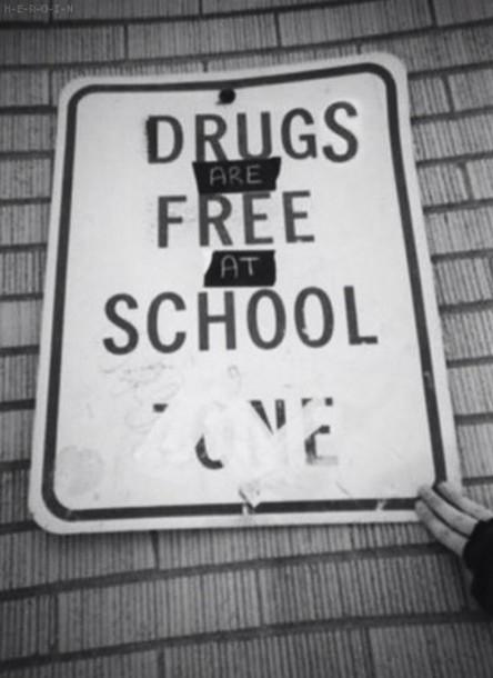 Jewels Sign Poster Tumblr Black White Black And White Drugs